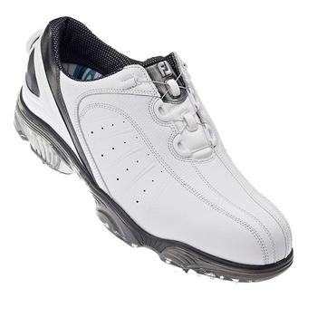 footjoy fj sport boa golf shoes white silver 53175