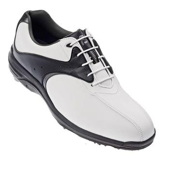 Footjoy Greenjoys Golf Shoes White/Black/Silver