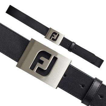 Footjoy FJ Logo Leather Belt Black (69335)