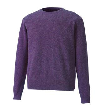 Footjoy Performance Lambswool C-Neck Pullover Purple SALE