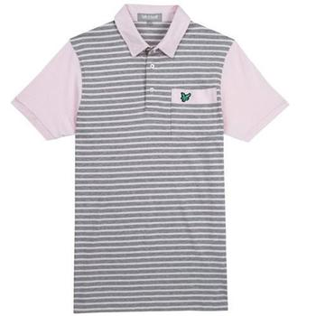 Lyle & Scott Club Fine Stripe Pink Sorbet 2012