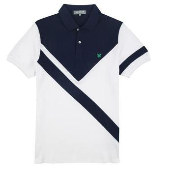 Lyle & Scott Club Graphic Polo Shirt White 2012