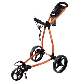 Big Max Blade Golf Push Trolley - Orange