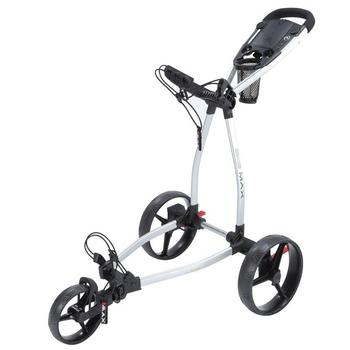 Big Max Blade Golf Push Trolley - Silver<BR>Delivered in 7-10 Days)