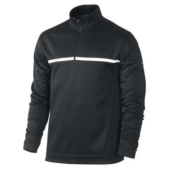 Nike Therma-Fit Half Zip Cover Up Black