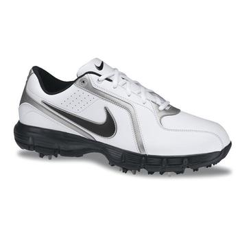 Golf Shoes Size on Nike Power Player Iii Golf Shoes White Black Silver