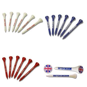 Asbri Golf Patriot Golf Tees Jumbo Bag 100 Pack