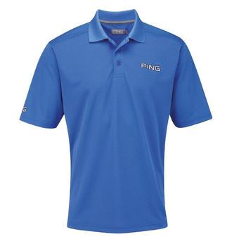 Ping Collection Ruffin Tour Polo Shirt Delph Blue