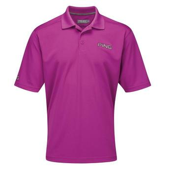 Ping Collection Ruffin Tour Polo Shirt Magenta