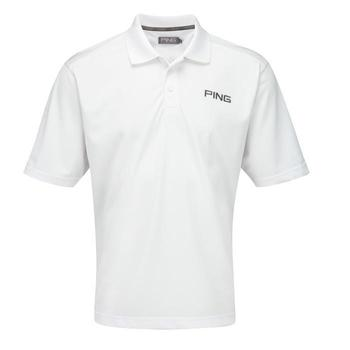 Ping Collection Ruffin Tour Polo Shirt White