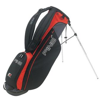 Ping L8 Golf Stand Bag Charcoal/Red/Black