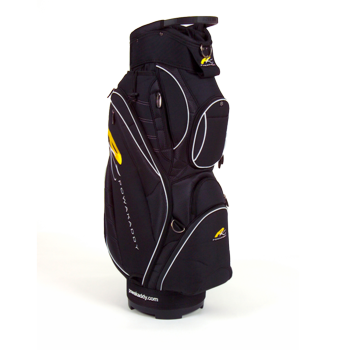 Powakaddy Deluxe Golf Cart Bag Black/White
