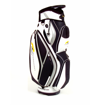Powakaddy PVC Premium Cart Bag Black/White/Silver
