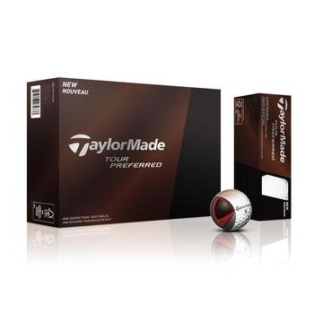 Taylormade Tour Preferred Golf Balls 1 Dozen