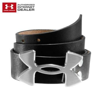 Under Armour Logo Leather Belt