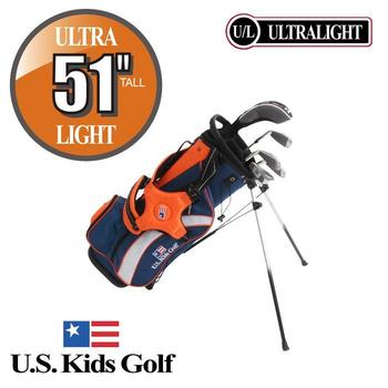 US Kids Ultralight Junior Set (51'' Tall) Age 7-9