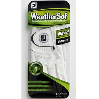 Footjoy Ladies Weather Sof Glove, 3 Gloves