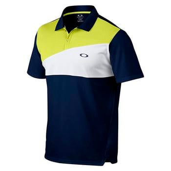 Oakley Greene Polo Golf Shirt - Dark Blue