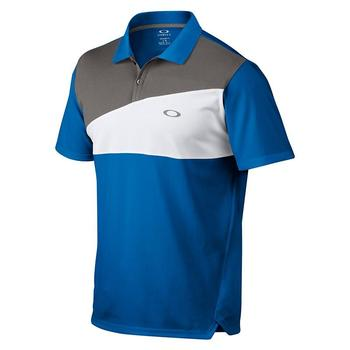 Oakley Greene Polo Golf Shirt - Electric Blue