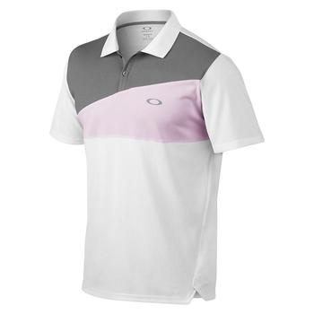 Oakley Greene Polo Golf Shirt - Pink Dust