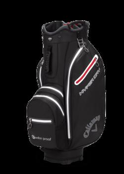 Callaway Hyper Dry Cart Bag  Black  Titanium  Silver
