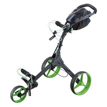 Big Max IQ+ 3 Wheel Golf Trolley - Black/Lime