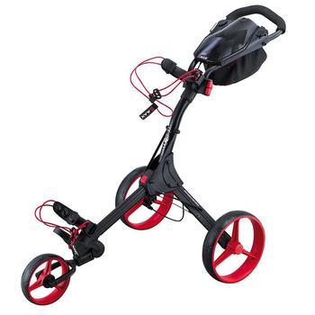 Big Max IQ+ 3 Wheel Trolley - Black/Red