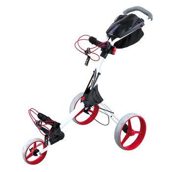 Big Max IQ+ 3 Wheel Trolley - White/Red