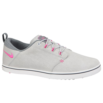 Nike Golf Ladies Lunar Adapt Golf Shoes – Platinum/Pink/Grey