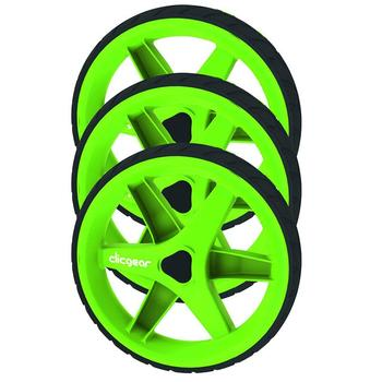 ClicGear 3.5 Trolley Wheel Kit - Lime