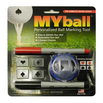 MYball - Gambling Designs Ball Marker