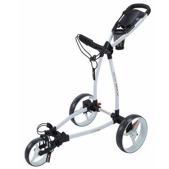 Big Max Blade Golf Push Trolley - White