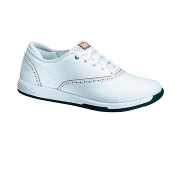 Nike Womens Lunar Duet Classic Golf Shoes White - Size: 3.5