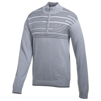 Puma Golf 1/4 zip Novelty Sweater - Tradewinds