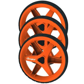 ClicGear 3.5 Trolley Wheel Kit - Orange