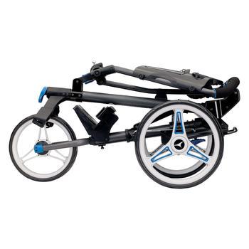 Motocaddy P1 Push Cart – Black / Blue