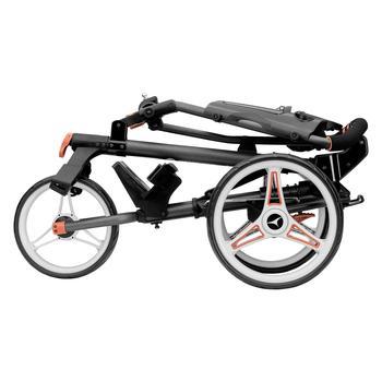 Motocaddy P1 Push Cart – Black / Red