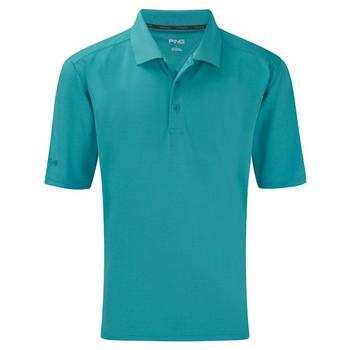 Ping Collection Junior Eagle Polo Shirt - Cyan