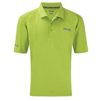 Ping Collection Eagle Tour Golf Polo Shirt (P02978) - Green - Size: Small
