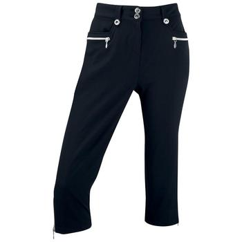 Ping Collection Ladies Edina Cropped Golf Trousers (P93231) Black
