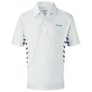 Ping Collection Reef Polo Shirt - White/Multi - Size: Small