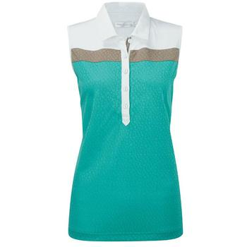 Ping Collection Trudy Polo Shirt - Spearmint/White (P93215) - Size: 12
