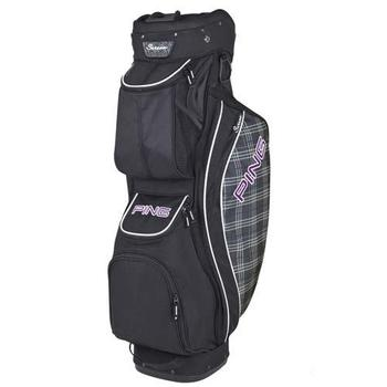 Ping Ladies Serene Trolley Bag - Black/Plaid