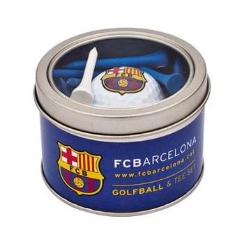 Buy FC Barcelona Golf Ball Tee Set at www.golfgeardirect.co.uk