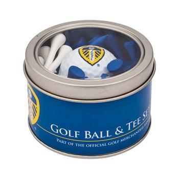 Leeds United Golf Ball Tee Set