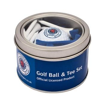 Buy Rangers Golf Ball Tee Set at www.golfgeardirect.co.uk