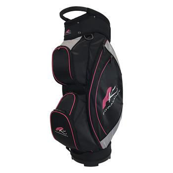 PowaKaddy Lite Cart Bag 2017  BlackSilverFuchsia