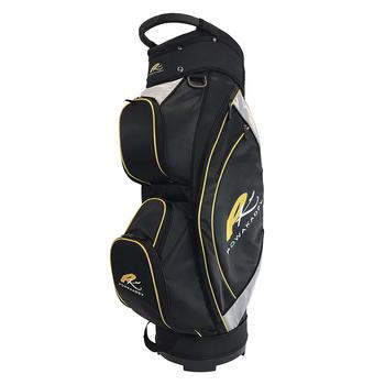PowaKaddy Lite Cart Bag 2017  Black  Silver  Yellow