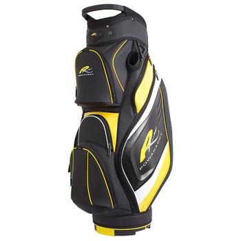 Powakaddy Premium Cart Bag 2017  BlackYellowWhite