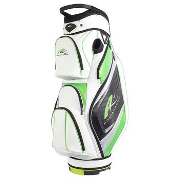 Powakaddy Premium Cart Bag 2017  WhiteLimeSilver